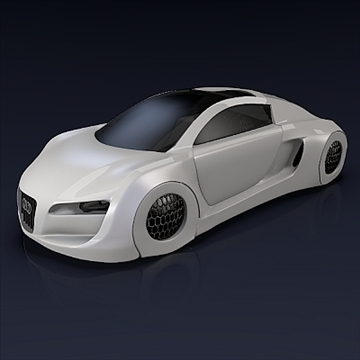 audi rsq concept 3d model 3ds fbx blend obj 104559