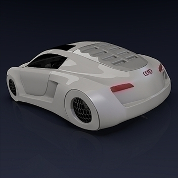 audi rsq concept 3d model 3ds fbx blend obj 104560