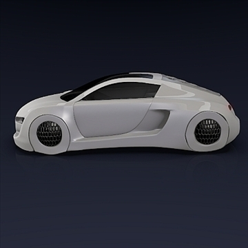 audi rsq concept 3d model 3ds fbx blend obj 104561