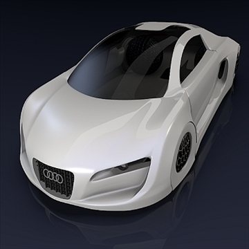 audi rsq concept 3d model 3ds fbx blend obj 104562
