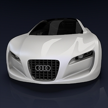 audi rsq concept 3d model 3ds fbx blend obj 104563