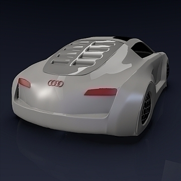 audi rsq concept 3d model 3ds fbx blend obj 104564
