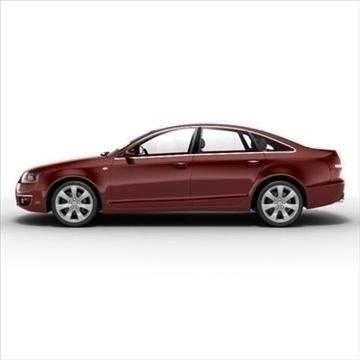 Audi A6 3d model 3ds max lwo lws lw ma mb obj 85789