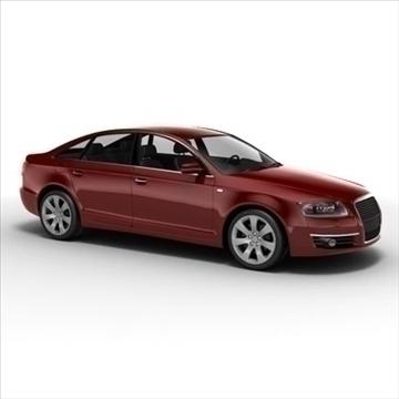 Audi A6 3d model 3ds max lwo lws lw ma mb obj 85790