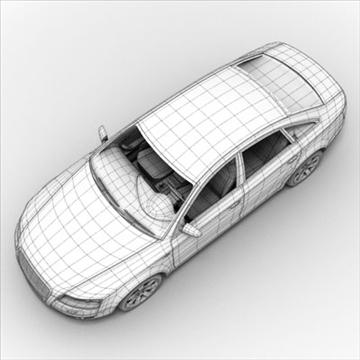 Audi A6 3d model 3ds max lwo lws lw ma mb obj 85794