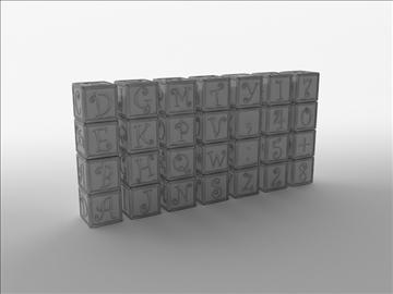 barnaröð 3d líkan 3ds max fbx c4d obj 105016