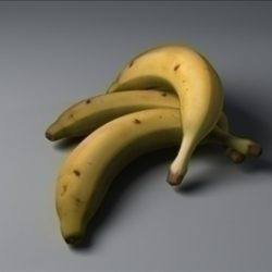 Banana ( 42.89KB jpg by Waugh3D )