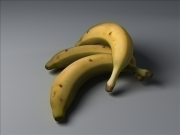 banana 3d model max 82358