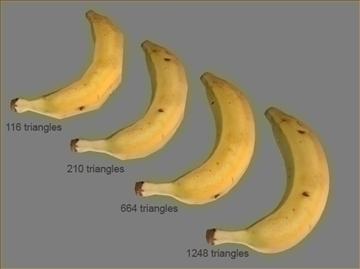banana 3d model max 82359