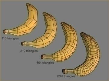 banana 3d model max 82360