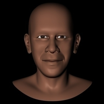 barack obama head.zip Modeli 3d 3ds dxf fbx c4d x obj 91205