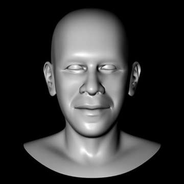 barack obama head.zip 3d model 3ds dxf fbx c4d x obj 91207