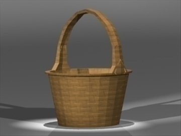 basket 3d model 3ds dxf fbx 80990