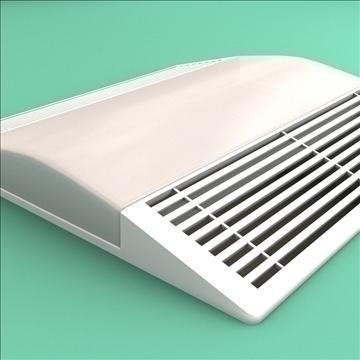 bath fan collection 3d model 3ds max lwo hrc xsi obj 103396