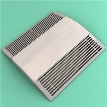 bath fan collection 3d model 3ds max lwo hrc xsi obj 103398
