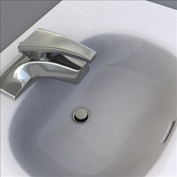 bath sink 3d model 3ds max lwo hrc xsi obj 104467