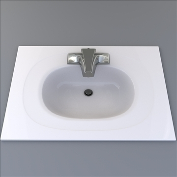 bath sink 3d model 3ds max lwo hrc xsi obj 104468