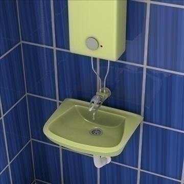 vannas istabas aina 3d modelis 3ds fbx maisījums obj 106703