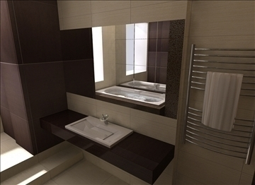 bathroom sink 3d model lwo 82308