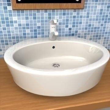 bathroom tap 3d model 3ds max obj 109253