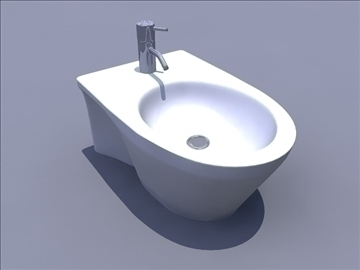 bidet 3d model ma mb obj 82895