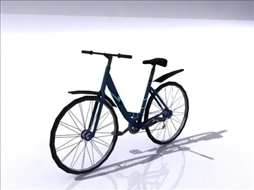 bike b 3d model 3ds max obj 112090