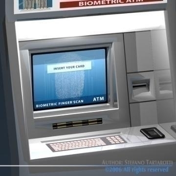 biometric atm 3d model 3ds other obj 77523