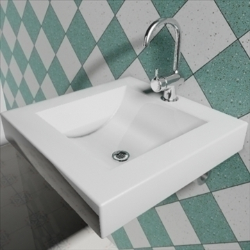 bloc sink 3d model 3ds max dwg obj 82156