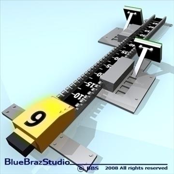blok za početak 3d model 3ds dxf c4d obj 89911