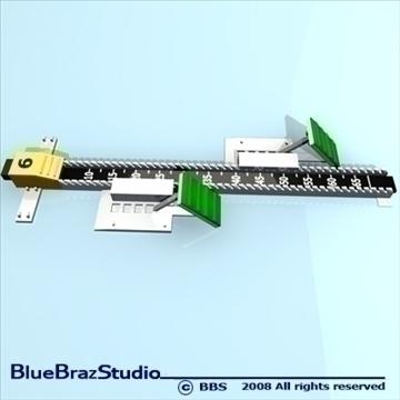 blok za početak 3d model 3ds dxf c4d obj 89912