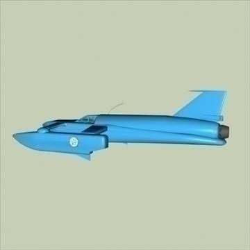 model bluebird k-7 3d 3ds 80657