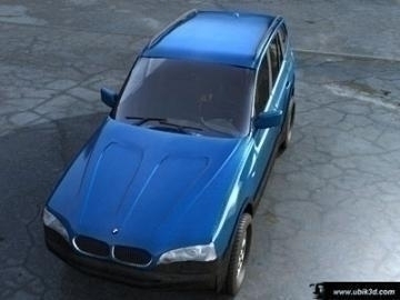 bmw x3 3d model 3ds lwo 77957