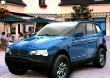 bmw x3 3d model 3ds lwo 77959