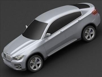 bmw x6 3d model max 106441