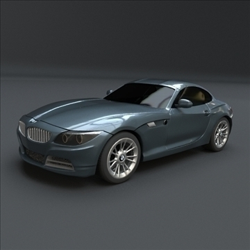 bmw z4 kupé 3d model 3ds blend lwo obj 107670