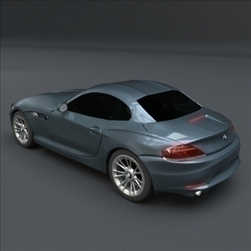 bmw z4 kupeja 3d modelis 3ds maisījums lwo obj 107671
