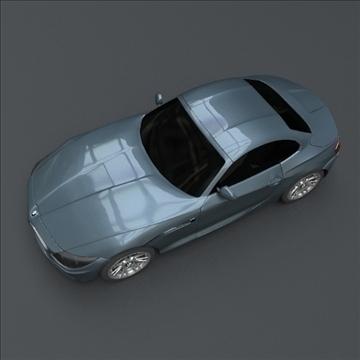 bmw z4 kupeja 3d modelis 3ds maisījums lwo obj 107675