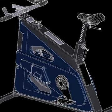 bodybike 3d model 3ds lwo 78944