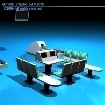 stol za kuglanje 3d model 3ds dxf c4d obj 82424