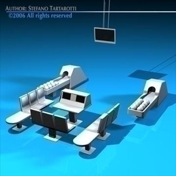 stol za kuglanje 3d model 3ds dxf c4d obj 82427