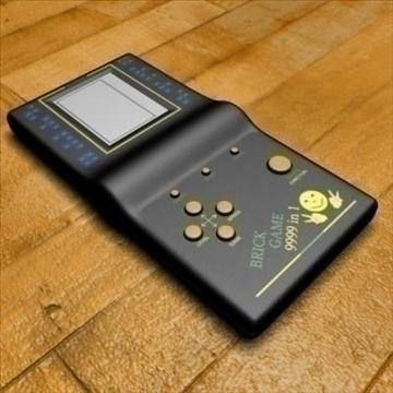ķieģeļu spēle 3d modelis max 92391