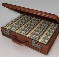 Briefcase of Money ( 51.07KB jpg by matttrout )