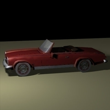cabrio 1973 3d model 3ds 97393
