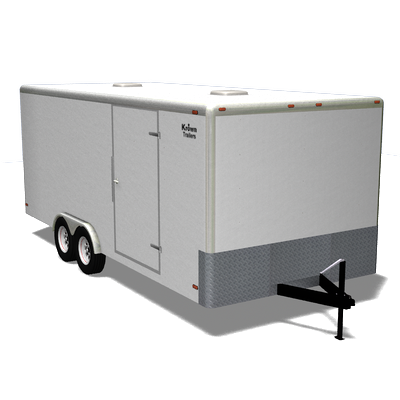 cargo trailer 3d model 3ds pz3 pp2 obj 107040