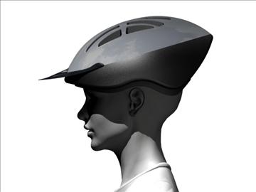 casco ciclista 3d modelis 3ds max 96331