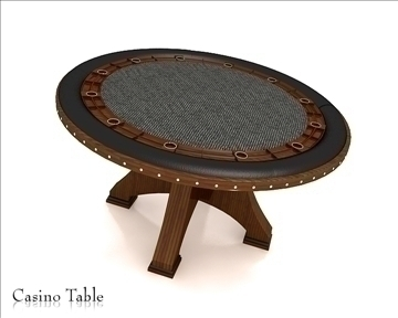 casino table 3d model 3ds max obj 111816