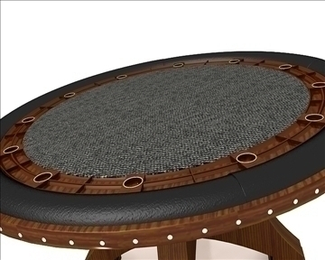 casino table 3d model 3ds max obj 111819
