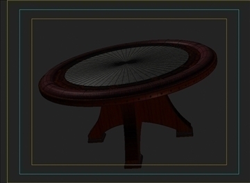 casino table 3d model 3ds max obj 111822