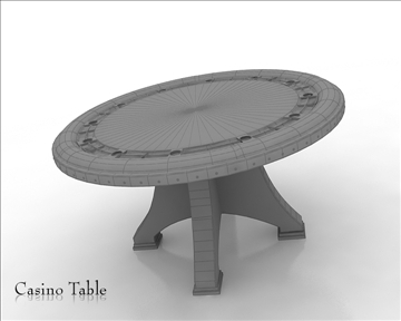 casino table 3d model 3ds max obj 111823