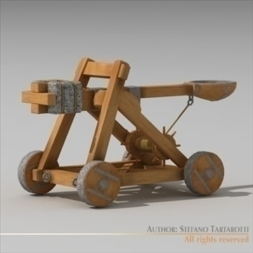 catapult 3d model 3ds dxf c4d obj 106221